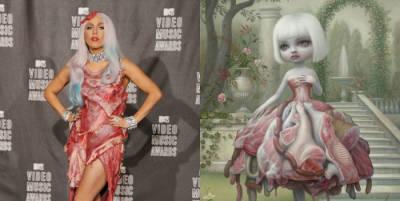 El vestido de carne de Lady Gaga fue inspirado en un cuadro de Mark Ryden