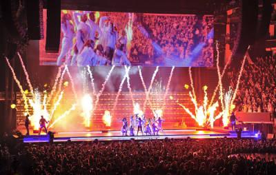 Así se diseñó y construyó el escenario del Joanne World Tour