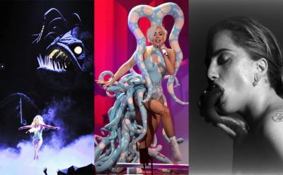 Lady Gaga representa la fama con un monstruo con tentáculos