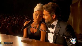 Lady Gaga canta Sallow con Bradley Cooper en Los Oscar 91ª