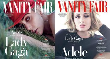 Lady Gaga y Adele, protagonistas de la nueva edición de Vanity Fair Italy