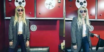 ¿Qué está haciendo Lady Gaga en el estudio?