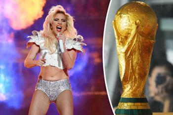 Lady Gaga y RedOne trabajan en el tema de la Copa Mundial de fútbol 2018