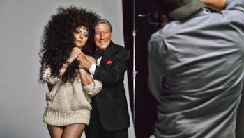 Lady Gaga y Tony Bennett imagen de H&M invierno 2014