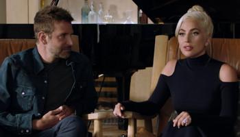 Lady Gaga y Bradley Cooper hablan sobre 'A Star Is Born' en una nueva entrevista