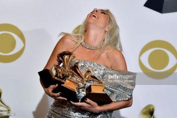 La carrera de Lady Gaga y los Premios Grammys