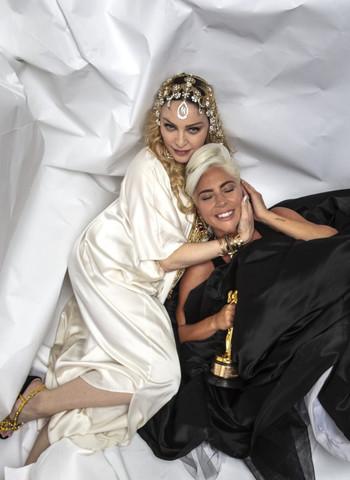 Madonna ha hablado de Lady Gaga en la revista Vogue