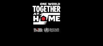 One World Together At Home, el evento