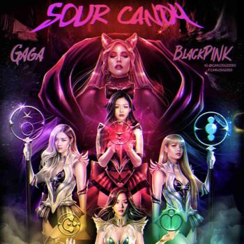 Sour Candy, Lyrics Video