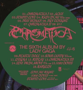 CHROMATICA el tracklist